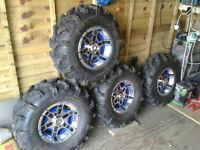 ATV Wheels and Tyres Quadzilla Yamaha CF Moto Etc.