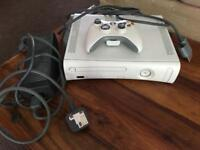 Xbox 360 with one controller