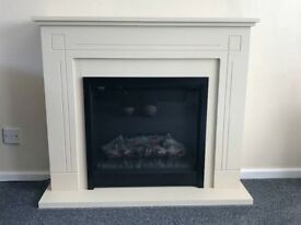 Cream fireplace for sale