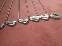 Assorted Golf clubs (irons)