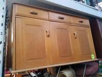 Vintage Ercol Sideboard Cabinet Kitchen Living Room