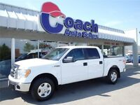 White 2012 Ford F-150 XLT Crew Cab Short Box Truck - 25,330 KMs