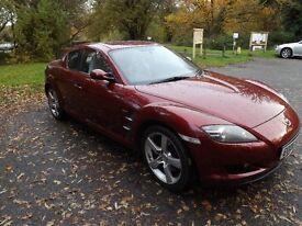 Mazda RX8 Evolve 231 2006 red