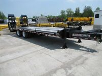 2015 CAM Superline 8x25 20ton Equipment Hauler