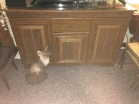 wooden sideboard, very good condition. BUYER COLLECTS, I can not deliver.