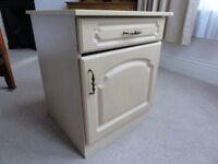 Attractive and sturdy bedside cabinet for sale.