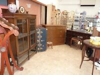 Vintage Corner - ITEMS STILL FOR SALE - BOOKCASES, LECTRYN, TRUNK