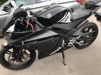 Yamaha yzf r125 long Mot