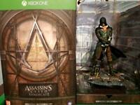 Xbox one assassins creed with figurine