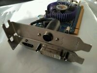 ATI Radeon Sapphire HD 2400 Pro 256mb 64 bit ddr2 pci-e hdmi TV out graphics card
