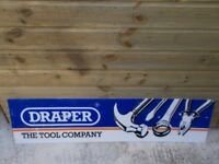 'DRAPER THE TOOL COMPANY' ADVERTISING SIGN