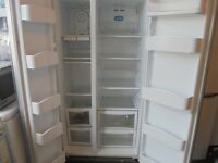 DEAWOO AMERICAN STYLE FRIDGE FREEZER WARRANTY AND FREE DELIVERY
