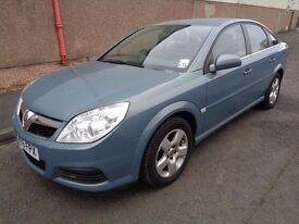 VAUXHALL VECTRA , 2006/56 REG , LOW MILEAGE , GOOD MOT , DRIVES SUPERBLY , GREAT CONDITION