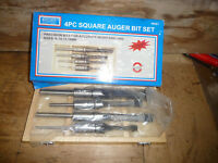 Rolson 4 Piece Mortice Cutters