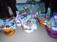 Halloween bucket treat