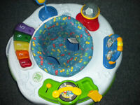 musical baby play chair