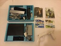 Wii sports resort games console and games