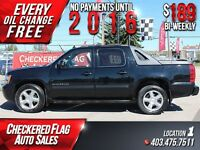 2011 Chevrolet Avalanche 1500 LT W/ DVD-Heated Leather-Sunroof