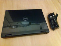 Dell Vostro 1510 laptop, Core2Duo, 4GB RAM, 250GB HDD, Windows 10, charger, exhausted battery