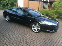 07 PEUGEOT 407 GT Coupe very low miles 1 year mot stunning top of the range model may swap px