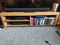 Pine Finished TV stand