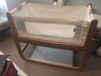 SnuzPod pod 3 in 1 bedside cot crib