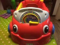 Little tikes - laugh and learn crawl around car