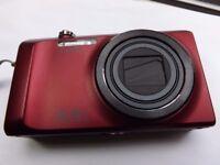 Casio EXILIM EX-H30 16.1MP Digital Camera - Red - Bundle With Extras