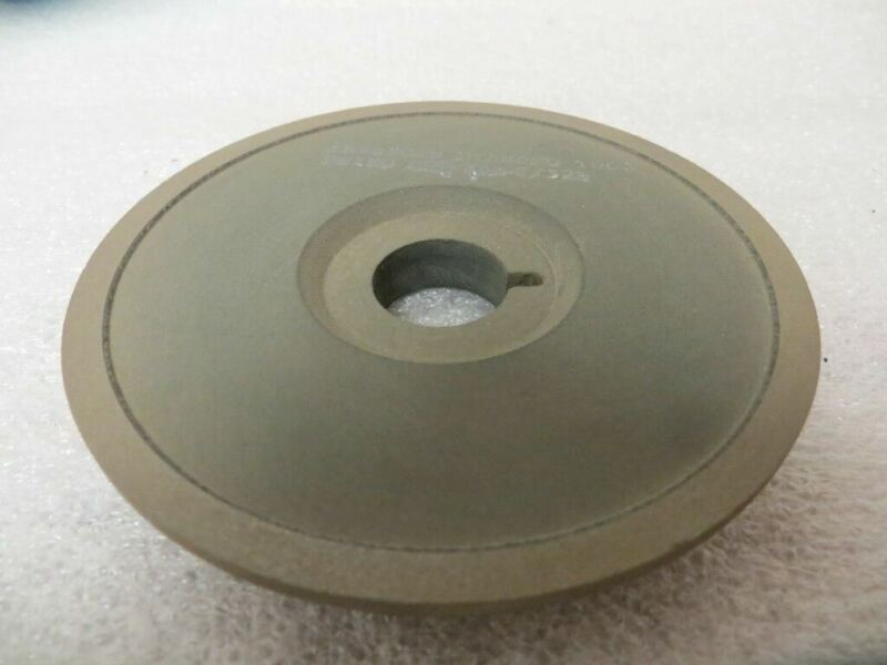 """100 mm x 9/16"""" x 20 mmkw 15A9 Saucer Side Grind 150 Grit 75 Con. New U.S.A."""