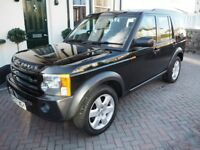 Land Rover Discovery 3 2.7 TDi V6 HSE 2007 – 6 Speed Manual – full Service History - 12 Months MOT