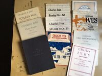 Charles Ives - 20th Century Piano Scores + 114 Songs (10 publications)