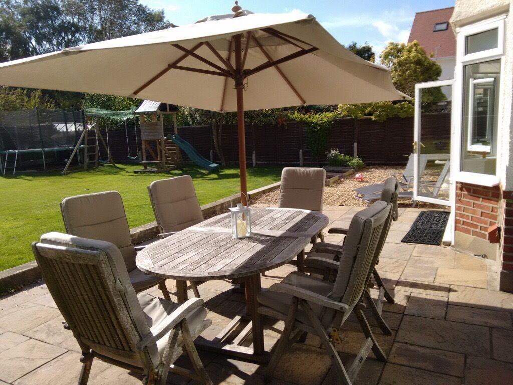 Garden Furniture Gumtree neptune teak garden furniture set | in bournemouth, dorset | gumtree