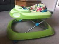 Baby walker interactive