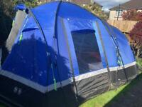 Hi Gear Voyager 6 Tent with porch extension