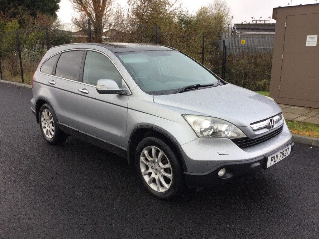 2007 honda cr v 2 2 cdti diesel 4x4 4 wheel drive jeep in county antrim gumtree. Black Bedroom Furniture Sets. Home Design Ideas