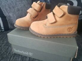 Timberland Tims Nude Boy Girl Unisex Boots Shoes - BRAND NEW - Size Infant 6