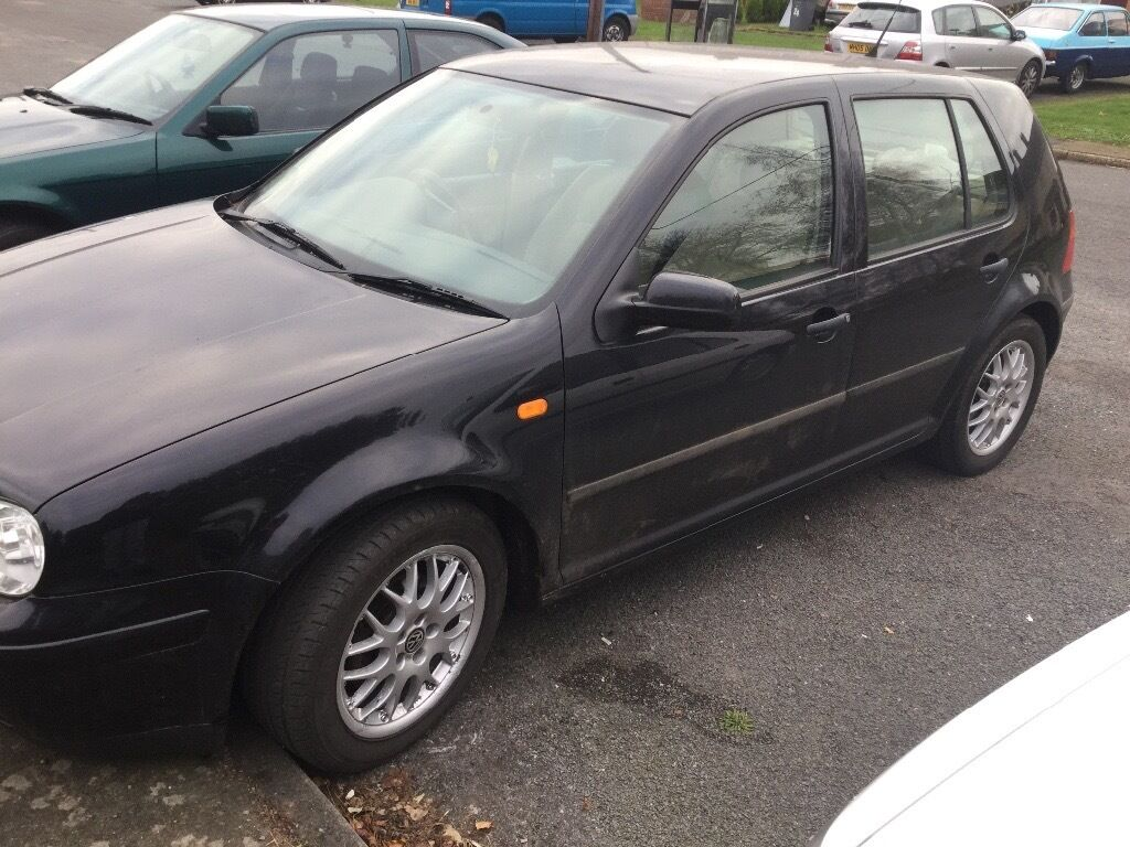 Vw golf E sdi 1 years mot as of today