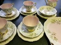 Vintage teaset - royal albert braemar