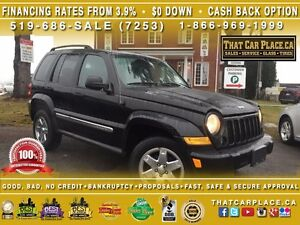 2007 Jeep Liberty Sport-$79/Wk-Pwr Drs/Mrrs/Wdws-AC-Cruise-4WD-T