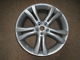20 inch ALLOY WHEEL, PROFESSIONALLY REFURBISHED, from a 2011 NISSAN MURANO, ALSO FITS OTHER VEHICLES