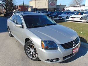 2009 Mitsubishi Galant NAVIGATION LEATHER SUNROOF