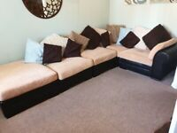 WOW Fantastic comfortable Large sofa with scatter cushions ONLY £50