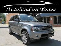 2011 Land Rover Range Rover Sport HSE, NAVIGATION, POWER SUNROOF