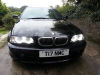 52reg BMW 320Ci SE AUTO ,full leather ,private plate (sale R swap)