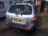 HYUNDA SANTA FE 2004 AUTO PETROL V6
