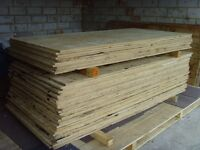 Plywood sheets 8ft x 4ft (20mm thickness) £12 per sheet