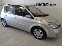 2009 Renault Scenic 1.5 dCi 106 Dynamique S 5dr Silver Leather AC CD MOT 2019 HPi Clear £1795
