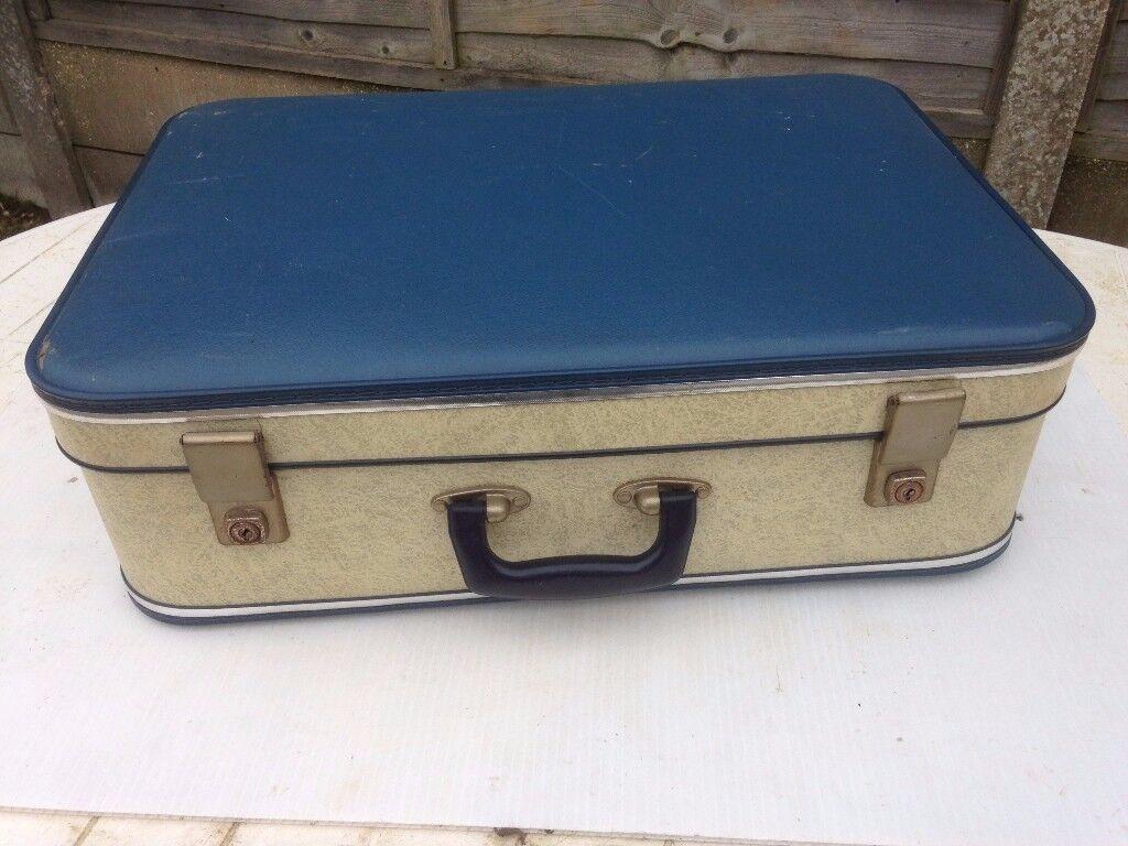 Suitcase , vintage , 1960's ....