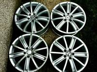 18 inch 5x112 genuine volkswagen alloys wheels