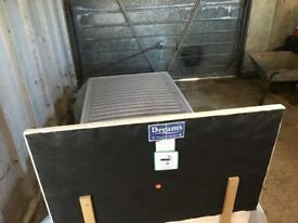 Adjustable Single Bed with headboard but needs mattress